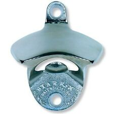 Stainless Steel Polished Starr X Wall Mount Stationary Bottle Opener ~ New