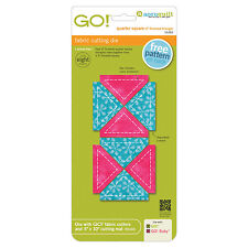 """AccuQuilt GO! & Baby Quarter Square Triangle-2"""" Finished Square Die 55393 Quilt"""