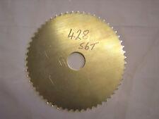 Blank hinten Kettenrad 66T 428 Dural mit 40mm Loch, NEU