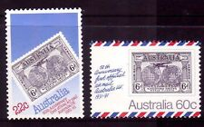 AUSTRALIA 1981 50th anniv of first UK flight set MUH