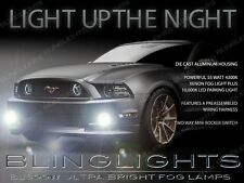2013 2014 Ford Mustang GT Xenon Halogen Fog Lamps Driving Lights Kit Set Pair