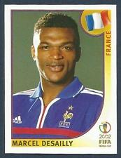 PANINI KOREA/JAPAN WORLD CUP 2002- #029-FRANCE & CHELSEA-MILAN-MARCEL DESAILLY