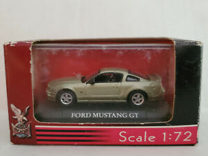 Yat Ming Diecast Ford Mustang GT Green 1:72 Scale New in Shopworn Box