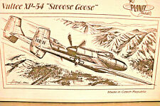 "Vultee Xp-54 ""Swoose Goose"" Experimental Usaaf Ww Ii Fighter Planet Resin 1/72 *"