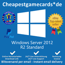 Microsoft Windows Server 2012 R2 Standard Vollversion Produkt key per email