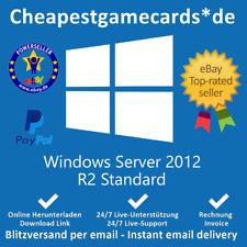 Microsoft Windows Server 2012 r2 Standard Versione Completa codice product key tramite email