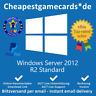Microsoft Windows Server 2012 R2 Standard Vollversion Produkt key per email
