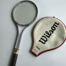 Vintage Wilson T-2000 T2000 Jimmy Connors Favorite Steel Tennis Racquet 4 1/2""