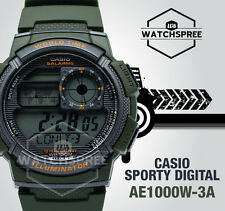 Casio Standard Digital Sporty Design Watch AE1000W-3A AU FAST & FREE
