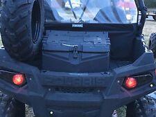 11-14 POLARIS RZR 900 XP- NEW PAIR BLACK REPLACEMENT TAIL LIGHTS w/BLINKER-SMOKE
