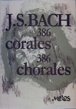 Bach Johann Sebastian 386 Corales (Leuchter) Choral, Very Good, Various Book