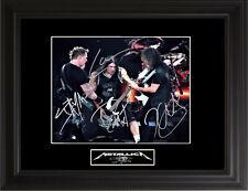 Metallica Autographed Photo