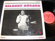 Gilbert BECAUD Same/60s German LP Electrola impression 6306