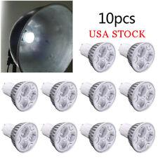 10x GU10 Led Spotlight Dimmable Downlight Led Bulb Light White Lamp 110v