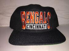 Vtg Cincinnati Bengals Snapback hat cap Drew Pearson NWT NFL 90s YOUNGAN dalton