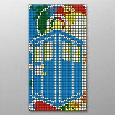 DIY Rubik's Cube Mosaic Tardis 264 Cube Kit