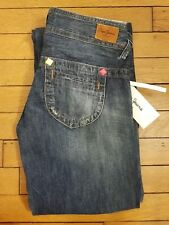 Pepe Jeans London Femme Neuf  Effet Usé  Taille XS T34 FR (24) Vintage Rare Sexy