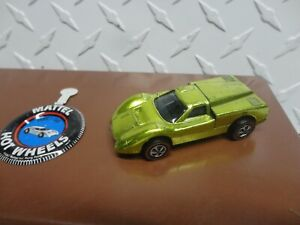 Original Hot Wheels Redline Anti Freeze Ford J Car w/Button See Pictures