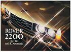 Rover 2200 Series Sales Brochure + 3 Road Tests