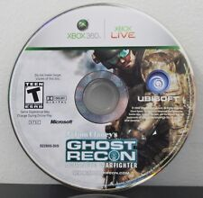 USED XBOX 360 TOM CLANCY'S GHOST RECON ADVANCED WARFIGHTER DISK ONLY FREE SHIP