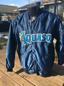 Everett Aquasox game worm hat warm up jacket Northwest League
