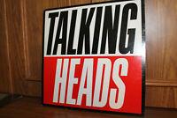 TALKING HEADS True Stories LP Sire 9-25512-1 1986 1st PR EX/EX OIS Play Graded