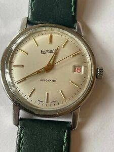 EBERHARD AUTOMATIC CAL 261-123 IMPECCABLE VERY REAR