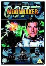 James Bond - Moonraker Ultimate Edition 2 Disc Set Roger Moore New Region 2 DVD