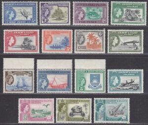 Gilbert and Ellice Islands 1956 Queen Elizabeth II Mint Set SG64-75 cat £75