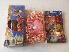 Small Animal Treats Selection Pack - Bulk. Hamster, Rabbit, Guineapig etc
