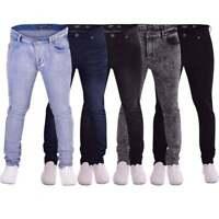 Mens Designer Branded Skinny Stretch Slim Fit Stretchable Denim Jeans