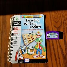 LeapFrog LeapPad plus Writing Reading Writing & Math Pre-K 1st Book & Cartridge