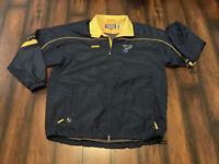 CCM St. Louis Blues Windbreaker Jacket Men Sz 2XL Zip Hockey NHL Winnipeg Jets