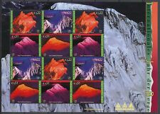 UNITED NATIONS VIENNA - INTERNATIONAL YEAR OF MOUNTAINS 2002 M.N.H. SHEETLET 363