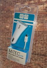 Mitec core universal in car charger and Misro USB Cable