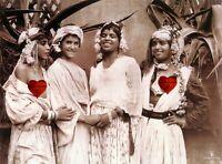 Orientalist # 7 Beautes-Bedouin-Tunis © 1910 by Rudolf Lehnert Reprint