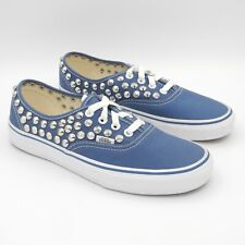 Vans Authentic Borchiate 38 NUOVE sneakers tessuto canvas blu navy borchie cono