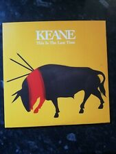 """Keane - This is the last time   7"""" Numbered Vinyl Mint never played"""