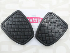 OEM NEW 2 PCS Clutch & Brake Pedal Pad Rubber Cover For SUBARU FORESTER MT