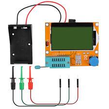 12864Transistor Tester Resistor Capacitor Tester Diode Multimeter with Test hook