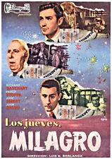 LOS JUEVES MILAGRO. dvd slim ( de Berlanga )