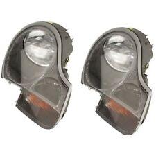 Porsche Boxster Headlight Assembly w/ Turn Signal Lens Halogen LUS4362 / LUS4361
