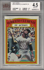 1972 Topps Roberto Clemente In Action Baseball HOF Pittsburgh Pirates BGS 4.5