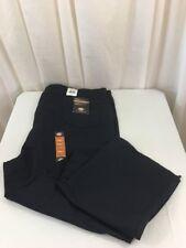 "NEW DICKIES TWILL 6-POCKET PANTS Blue 58"" Unfinished Hem Regular Fit Workwear"
