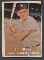 1957 Topps #213 Les Moss VG/VGEX C000013193