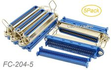 5-Pack Centronics 50-Pin IDC Type Female CN50 Crimp Connector for Ribbon Cable