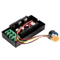 DC Motor Speed Regulator PWM Controller External Control Switch 10-50V 40A T8K2