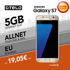Samsung Galaxy S7 Smartphone  im Otelo Allnet Vertrag  5GB Internet & EU Roaming
