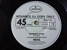 "INXS / HUTCHENCE / FARRIS ""SHINING STAR"" ULTRA RARE ADVANCE PROMOTIONAL 7"" VINYL"