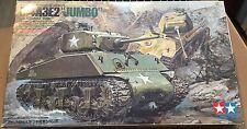 "TAMIYA 35139 - 1/35 M4A3E2 ""JUMBO"" U.S. ASSAULT TANK - NUOVO"